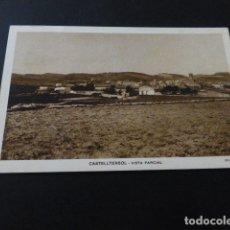 Postales: CASTELLTERSOL BARCELONA VISTA PARCIAL . Lote 165451370