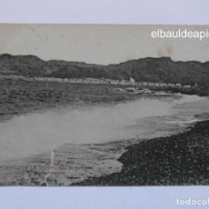 Postales: PUERTO DE LA SELVA. DIA DE TEMPORAL. FOTO L. ROISIN. SIN CIRCULAR. CCTT. Lote 165483190