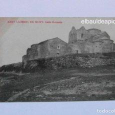 Postales: SANT LLORENÇ DE MUNT. ANTIC MONASTIR. FOTO E. LLOPART. SIN CIRCULAR. CCTT. Lote 165491034