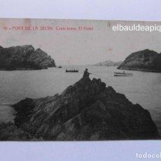 Postales: 10 PORT DE LA SELVA. COSTA BRAVA EL XIULET. CCTT. Lote 165494198