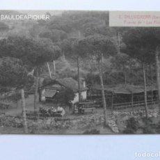 Postales: 2. VALLVIDRERA BARCELONA. FUENTE DE LOS PINOS.FOTO L. ROISIN. SIN CIRCULAR. CCTT. Lote 165525086