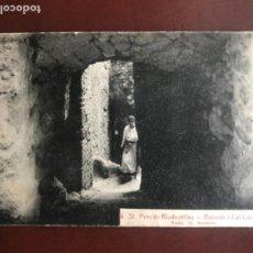 Postales: POSTAL DEL SAN PERE DE RIUDEVITLLES-BAIXADA A CAL CAROL. ROISIN 1929. . Lote 165597102