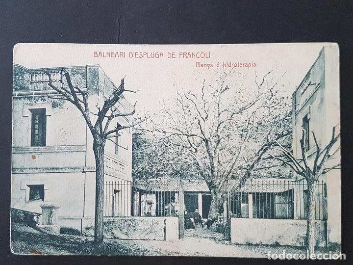 ESPLUGA DE FRANCOLÍ TARRAGONA BANYS E HIDROTERAPIA (Postales - España - Cataluña Antigua (hasta 1939))
