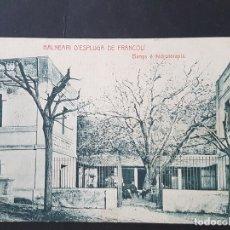 Postales: ESPLUGA DE FRANCOLÍ TARRAGONA BANYS E HIDROTERAPIA. Lote 165638670