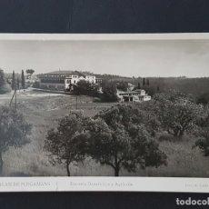 Postales: PALAU DE PLEGAMANS BARCELONA ESCUELA DOMESTICA Y AGRICOLA. Lote 165639354