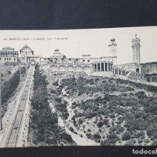 Postales: BARCELONA CUMBRE DEL TIBIDABO. Lote 165639642