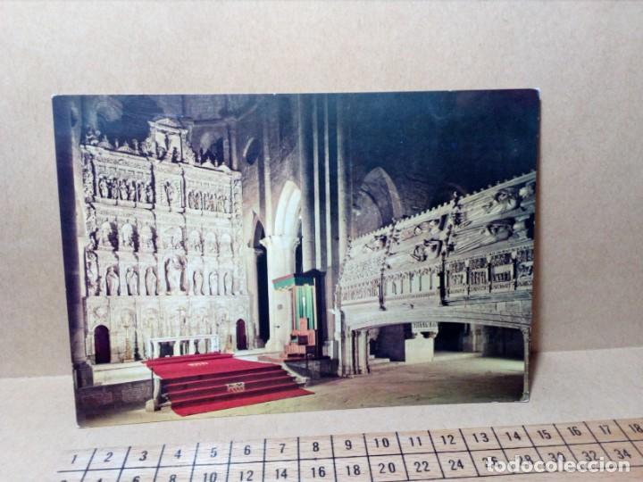 Postales: 3 POSTALES CATALUÑA (TARRAGONA) MONASTERIO DE POBLET (SIN CIRCULAR) (AÑOS 60) REF: 270/280 - Foto 4 - 165699158