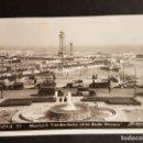 Postales: BARCELONA MONTJUICH TRANSBORDADOR AEREO DESDE MIRAMAR. Lote 165919026