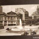 Postales: BARCELONA PASEO DE GRACIA EN SU CRUCE CON AVENIDA DE JOSE ANTONIO. Lote 165919226