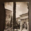 Postales: POBLET TARRAGONA CLAUSTRO Y PALACIO. Lote 165919370