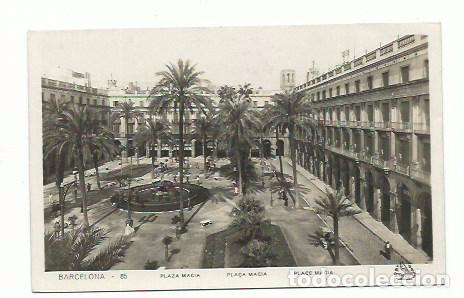 BARCELONA, PLAZA MACIA, PLAZA REAL (Postales - España - Cataluña Antigua (hasta 1939))