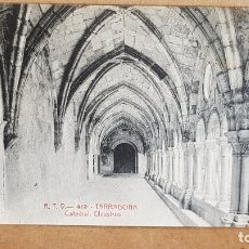 Postales: A.T.V. - 413 / TARRAGONA / CATEDRAL - CLAUSTROS / SIN CIRCULAR NI ESCRIBIR / LUJO.. Lote 166445386