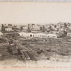 Postales: A.T.V. - 388 / TARRAGONA / ALMACENES DE LAS OBRAS DEL PUERTO / SIN CIRCULAR NI ESCRIBIR / LUJO.. Lote 166481354