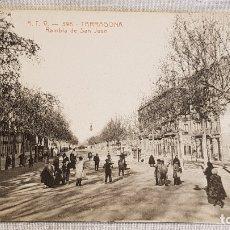 Postales: A.T.V. - 396 / TARRAGONA / RAMBLA DE SAN JUAN / SIN CIRCULAR NI ESCRIBIR / DE LUJO.. Lote 166521742