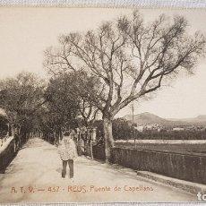 Postales: A.T.V. - 437 / REUS / PUENTE DE CAPELLANS / SIN CIRCULAR NI ESCRIBIR / DE LUJO. Lote 166550126