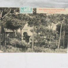 Postales: POSTAL GRAN BALNEARIO VICHY CATALAN FUENTE Nº 1, CALDAS DE MALAVELLA, GERONA. Lote 166624002