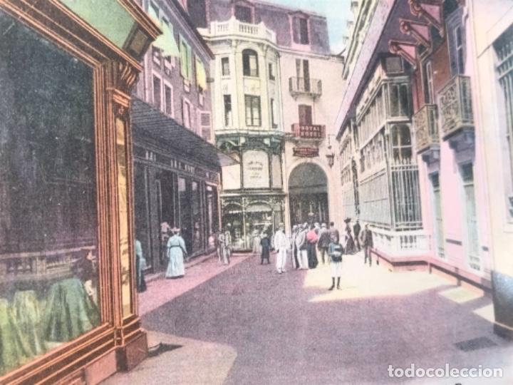 Postales: postal vichy passage et hotel des postes coloreada francia gustave dupuy - Foto 4 - 166626822
