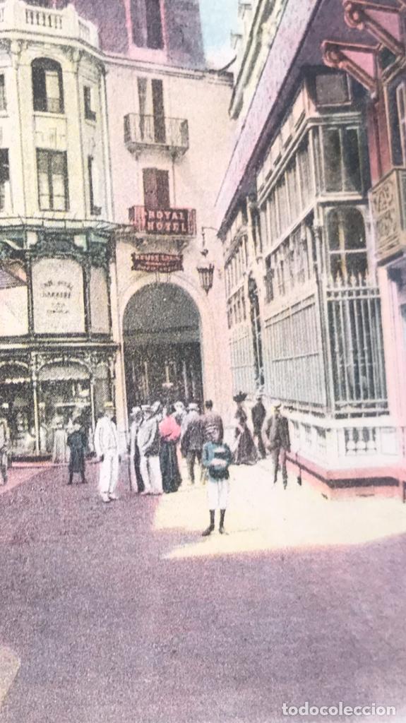Postales: postal vichy passage et hotel des postes coloreada francia gustave dupuy - Foto 3 - 166626822