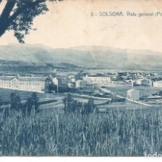 Postales: SOLSONA-LLEIDA. Lote 166632226