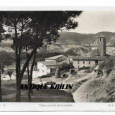Postales: TONA Nº 4 VISTA PARCIAL DE LOURDES .- EDICION FOTO PLÁ . Lote 166648826