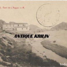 Postales: BLANES Nº 5 BARRI DE L'AUGUE .- R. / FOTOTIPIA THOMAS . Lote 166649658