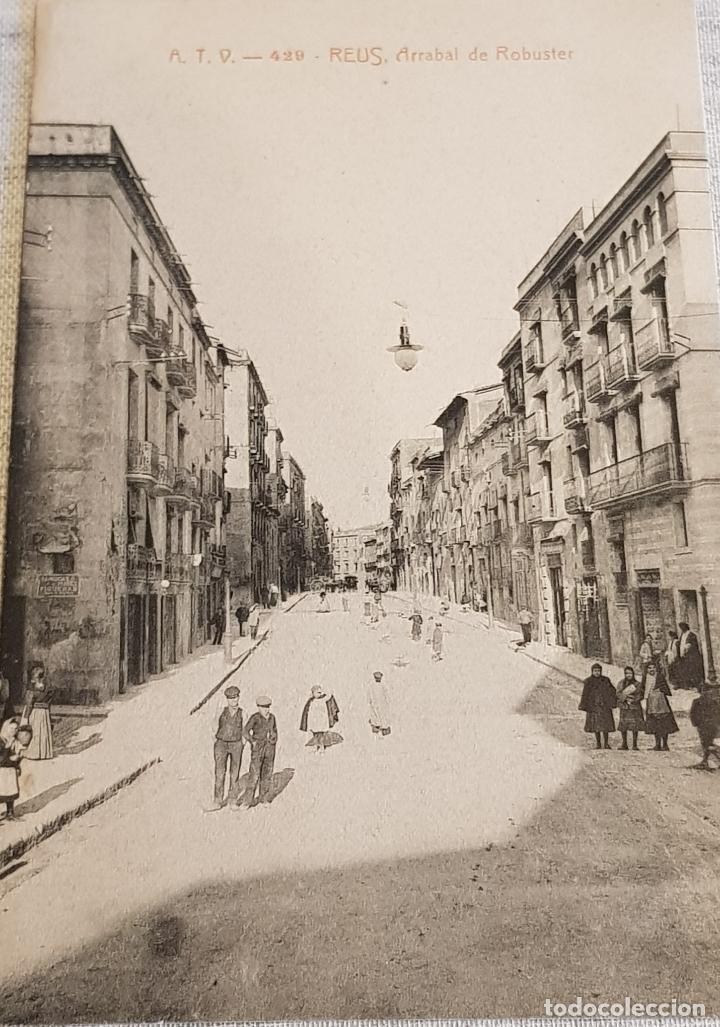 A.T.V. - 429 / REUS / ARRABAL DE ROBUSTER / SIN CIRCULAR NI ESCRIBIR / MANCHADA DETRÁS (Postales - España - Cataluña Antigua (hasta 1939))