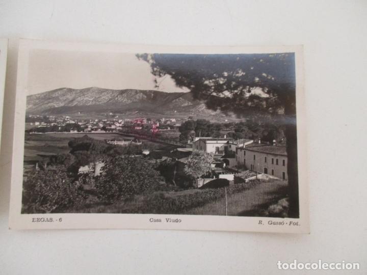 POSTAL BEGAS - CASA VIUDO - FOTO R. GASSÓ - POSTAL Nº 6 - SIN CIRCULAR (Postales - España - Cataluña Antigua (hasta 1939))