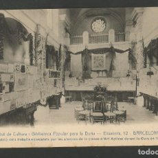 Postales: BARCELONA-INSTITUT CULTURA I BIBLIOTECA POPULAR PER LA DONA-ED·ANDRES FABERT-VER REVERSO-(59.903). Lote 166825130