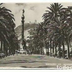Postales: BARCELONA, MONUMENTO A COLÓN. Lote 166873564