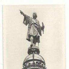 Postales: BARCELONA, MONUMENTO A COLÓN. Lote 166873796