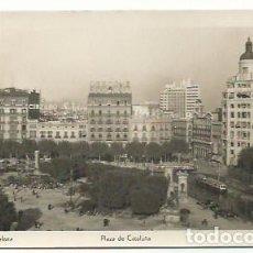 Postales: BARCELONA, PLAZA CATALUÑA. Lote 166875196