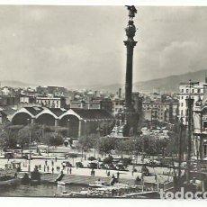 Postales: BARCELONA, MONUMENTO COLÓN. Lote 166877768