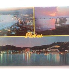 Postales: BARCELONA: ROSAS.COSTA BRAVA.CIRCULADA.. Lote 166889914