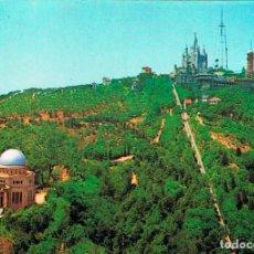 Postales: BARCELONA, CUMBRE DEL TIBIDABO. Lote 166937928