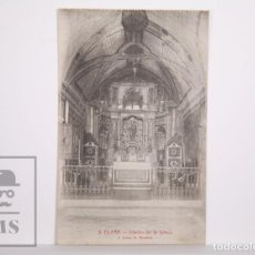 Postales: ANTIGUA POSTAL - 3. EL FAR. INTERIOR DE LA IGLESIA - L. ROISIN - SIN CIRCULAR. Lote 167266912