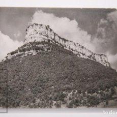 Postales: POSTAL FOTOGRÁFICA - LAS PLANAS, GERONA / GIRONA. EXCURSIÓN SANTUIARIO NTRA SRA DEL FAR - AÑO 1958. Lote 167270600