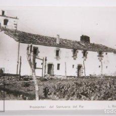 Postales: POSTAL FOTOGRÁFICA - PROMONTORI DEL SANTUARIO DEL FAR - FOT. L. ROISIN - SIN CIRCULAR. Lote 167271260
