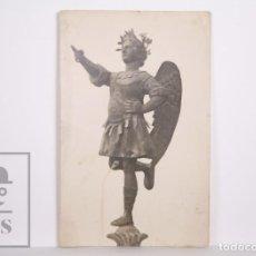 Postales: ANTIGUA POSTAL FOTOGRÁFICA - EL VENDRELL. ÁNGEL TOBÍAS / TOBIES, IGLESIA SANT SALVADOR -SIN CIRCULAR. Lote 167274912