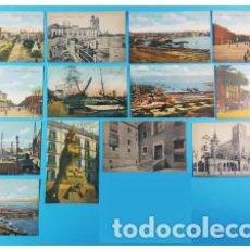 Postales: LOTE 13 POSTALES ANTIGUAS R.S.A. BARCELONA, NUEVAS SIN CIRCULAR, VER DESCRIPCION E IMAGENES. Lote 167461236