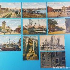 Postales: LOTE 10 POSTALES ANTIGUAS R.S.A. BARCELONA, NUEVAS SIN CIRCULAR, VER DESCRIPCION E IMAGENES. Lote 167461656