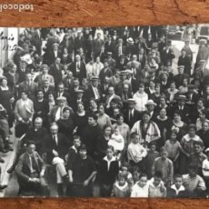 Postales: POSTAL FOTOGRAFICA DE SANT HILARI DE SACALM 1920. FESTEJÓ. . Lote 167709344