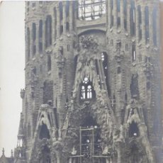 Postcards - FOTOGRAFIA POSTAL TEMPLO DE LA SAGRADA FAMILIA EN CONSTRUCCION. FACHADA DE LA PASION. - 168211772