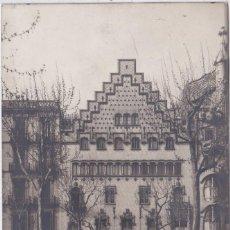 Postales: BARCELONA - PASEO DE GRACIA - ARQUITECTO PUIG Y CADAFALCH. Lote 168272881