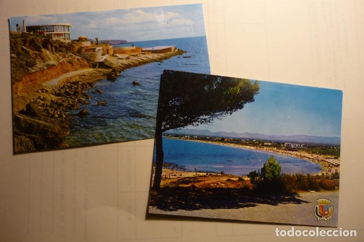 LOTE POSTALES SALOU - ¡¡1 ESCRITA¡¡ (Postales - España - Cataluña Moderna (desde 1940))