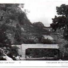 Postales: PS8178 FIGOLS 'LAS MINAS. VISTA PARCIAL DE SAN CORNELIO'. FOTOGRÁFICA. CIRCULADA. 1958. Lote 168571956