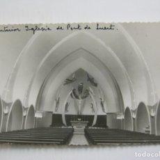 Cartes Postales: PONT DE SUERT-INTERIOR IGLESIA-VER FOTOS-(60.621). Lote 168625620