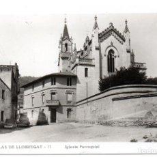 Postales: PS8190 TORRELLAS DE LLOBREGAT 'IGLESIA PARROQUIAL'. EDIT. PALET. SIN CIRCULAR. AÑOS 40. Lote 168808948