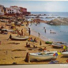 Postales: POSTAL CALELLA DE PALAFRUGELL-PLAYA. Lote 168945748