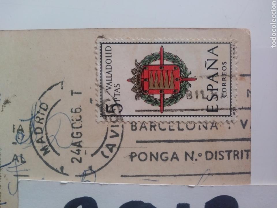 Postales: Barcelona:campo club de futbol.1966.circulada - Foto 4 - 169081478