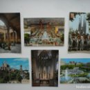 Postales: 6 POSTALES DE BARCELONA AÑOS 60/70. Lote 169183196